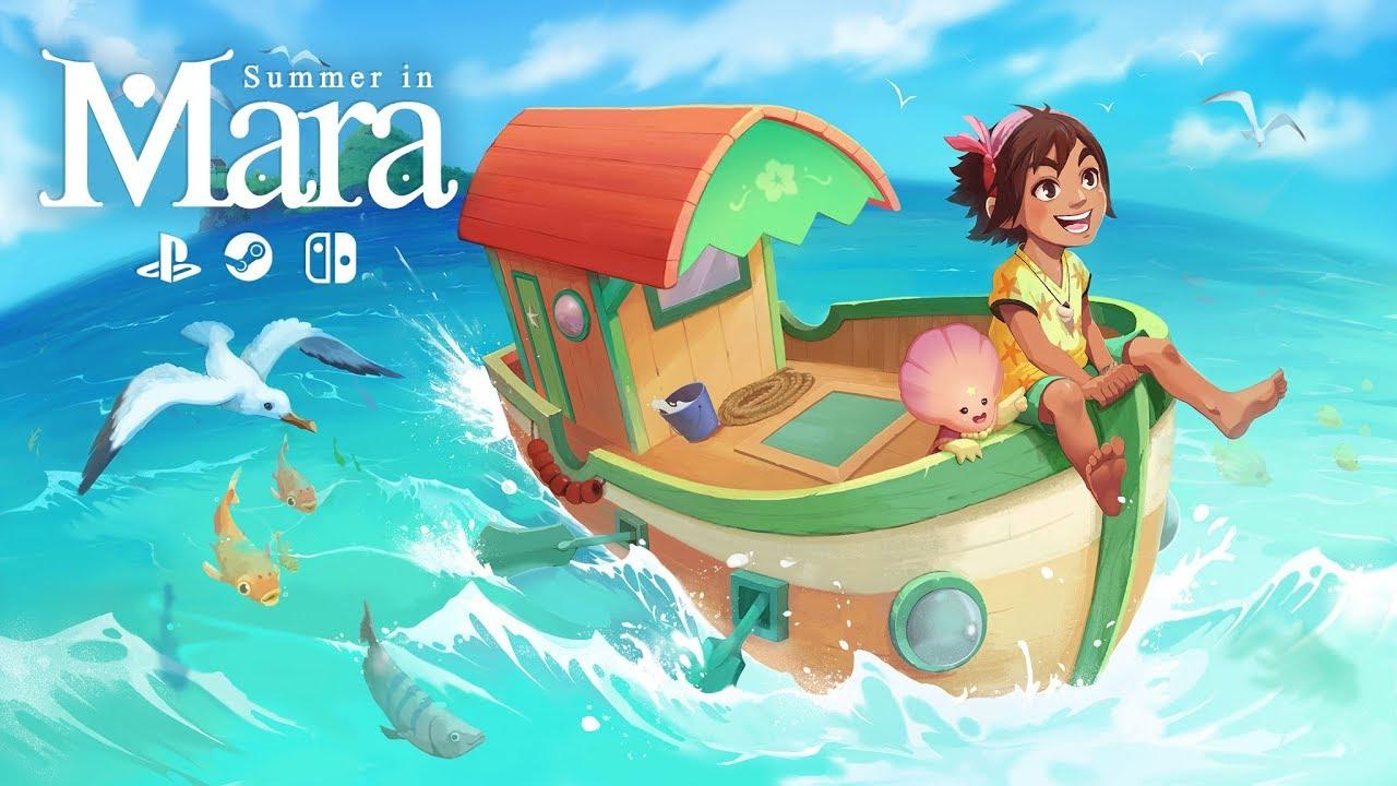 Анонсирующий трейлер игры Summer in Mara