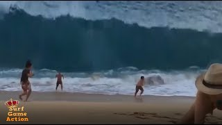 People Slammed By Massive Waves 6