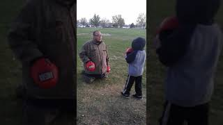 4 year old focus mitts
