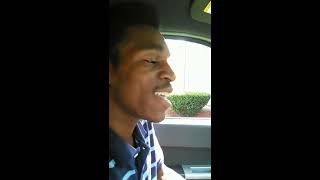 "EMOTION SINGING AUGUST ALSINA ""BENEDICTION"""