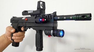 The BEST TOY GUN KIT - Realistic Laser Air Sport Gun Toy Unboxing - WORLD CLASS Weapon Toys