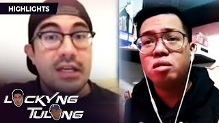 Francis shares about his friend who always sings | Lucky'Ng Tulong