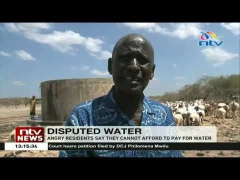 Kajiado West water from Nkurumani Springs to be disconnected