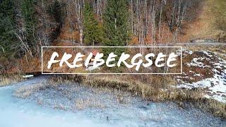 ❄️ Freibergsee ❄️ Oberstdorf | February 2020 | Beautiful Germany ???????? | DJI Phantom 4 Pro