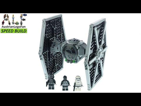 Vidéo LEGO Star Wars 75300 : TIE Fighter impérial