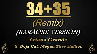 34+35 (Remix) - Ariana Grande ft. Doja Cat, Megan Thee Stallion (Karaoke/Instrumental)