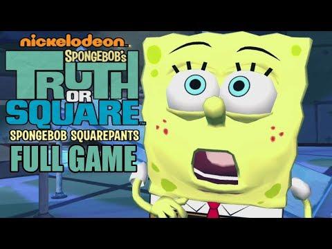 SpongeBob's Truth or Square Full Gameplay Walkthrough ( Longplay)