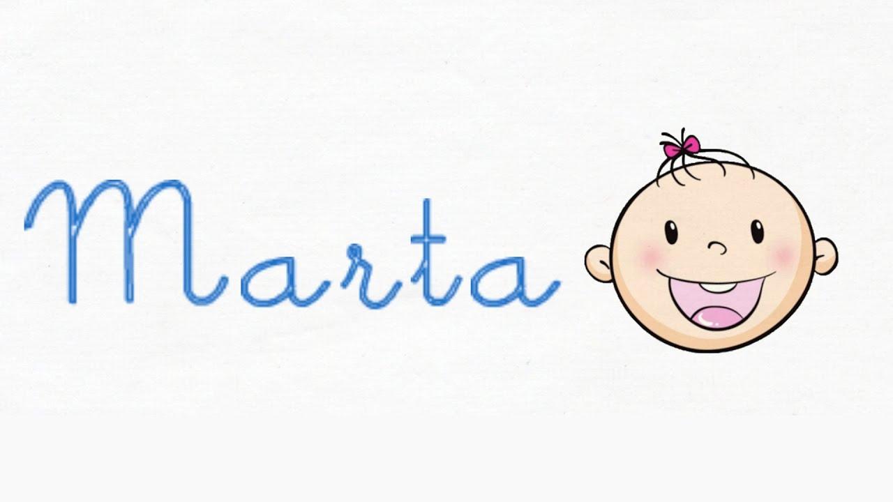 Significado y origen de Marta - Nombres de niña