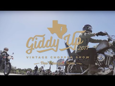 Giddy Up Vintage Chopper Show 2017 Recap By: TC Bros.
