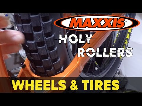 Best MTB Street Tire | Maxxis Holy Roller Tires | Bicycle Warehouse PURE DH Wheels