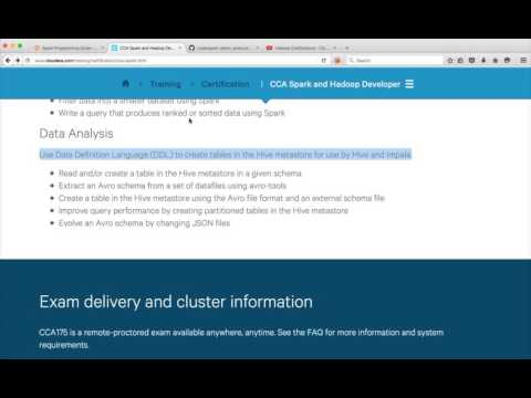 Hadoop Certification - CCA - Conclusion and Best of luck - YouTube