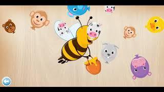 Puzzle For Kids Animals/Puzzle dla dzieci Zwierzęta