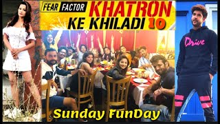 Khatron Ke Khiladi 10: Behind The Scenes| Bharti Singh in kkk10| Karishma Tanna Offscreen