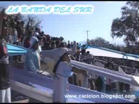 """""""CICLON PENTACAMPEON ATF 2009 - LA BANDA DEL SUR"""" Barra: La Banda del Sur • Club: Ciclón de Tarija"""