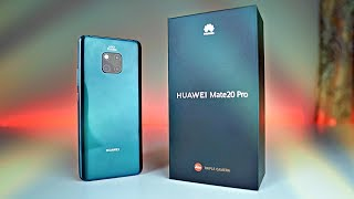 Huawei Mate 20 Pro EMERALD GREEN - Unboxing & First Look!