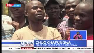 Usimamizi wa chuo anwai cha Kitale umeifunga taasisi kutokana na mgomo wa wanafunzi