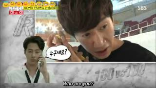 Jo In Sung tricked Kwang Soo @ Running Man Ep 271