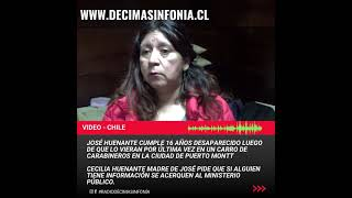 VIDEO 🔴 Se cumplen 16 años de la desaparición en Puerto Montt de José Huenante. Se le vio por última vez en un carro de Carabineros.