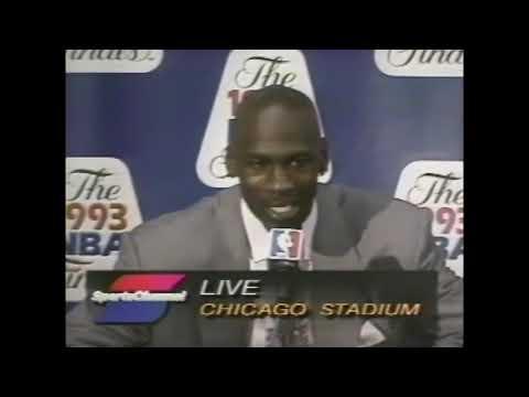 "Michael Jordan – on Charles Barkley's ""destiny"" to win 1993 NBA Finals"