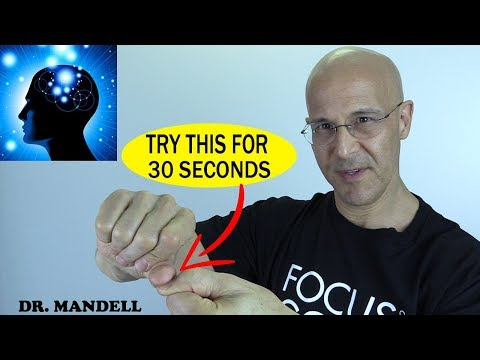 BLUFF THE BRAIN…GET HIGH NATURALLY IN 30 SECONDS – (Discovered by Dr Alan Mandell DC)