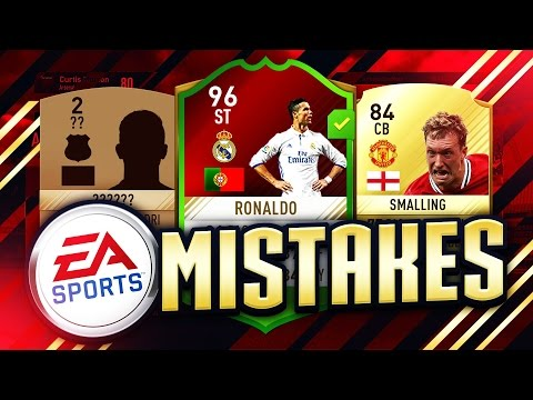 FIFA 17 - EA'S BIGGEST MISTAKES! RATING GLITCHES, FREE CARDS! A SQUAD OF THINGS EA MESSED UP
