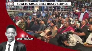 Gospel singer Rebecca Malope gives a heart felt performance for Lundi