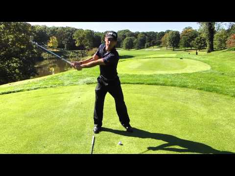 Learn how to keep your left arm straight in golf