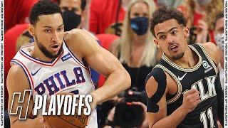 ហ្វីឡាដែលហ្វៀ ៧៦ ទល់នឹងអាត្លង់តាហាំង - ល្បែងពេញ ៤ រំលេច   ថ្ងៃទី ១៤ ខែមិថុនាឆ្នាំ ២០២១   ឆ្នាំ ២០២១ ការប្រកួតបាល់បោះ NBA