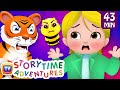 The Clever Goat, The Smart Rabbit & More Stories - ChuChuTV Storytime Adventures Collection