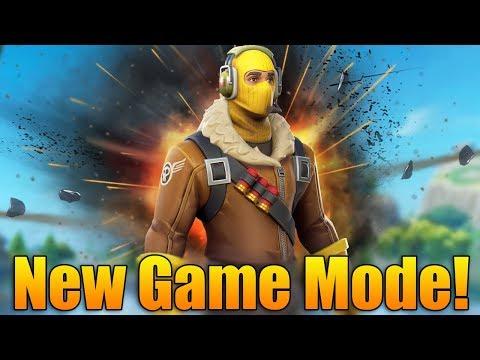 Fortnite Battle Royale: NEW GAME MODE! HIGH EXPLOSIVES! - Fortnite Battle Royale Gameplay - (PS4)