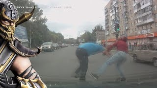 Драки на дорогах Fights on the roads