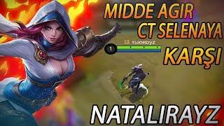 Mobile Legends-Natalia ile Selenaya Karşı Oynamak(DERECELİ)