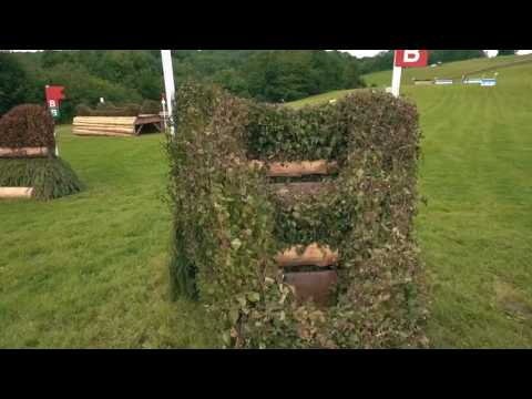 Cross Country Course Flyover from Gatcombe Park 2017 Event Rider Masters