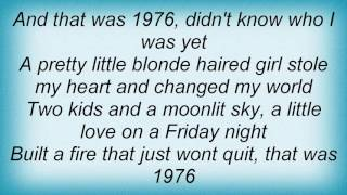 Alan Jackson - 1976 Lyrics
