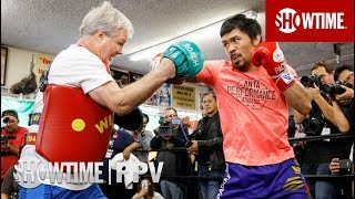 Manny Pacquiao and Freddie Roach Workout | Jan. 19 on SHOWTIME PPV