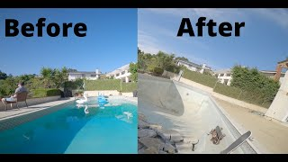 My house in 2 different stages of construction | FPV Freestyle