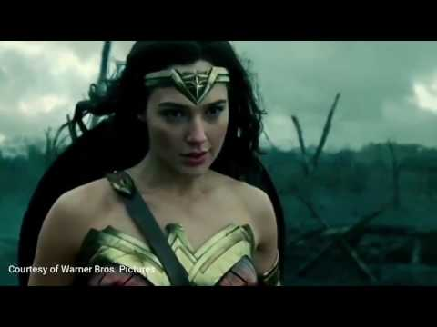 Wonder Woman - No mans land scene