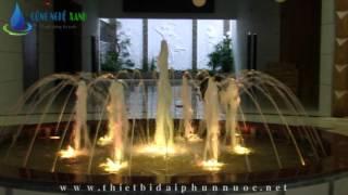 Hồ phun nước Khách sạn Victoria - dak lak