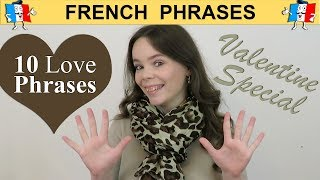 10 FRENCH LOVE PHRASES