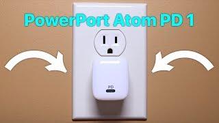 Anker PowerPort Atom PD 1 Review: Featuring Gallium Nitride!