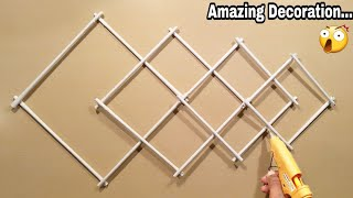 Wall Hanging Decoration - Easy And Beautiful Croft - DIY Home Decoration Ideas - Paper Flowers