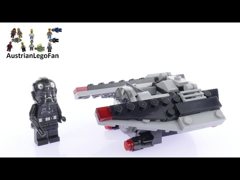 Vidéo LEGO Star Wars 75161 : Microvaisseau TIE Striker