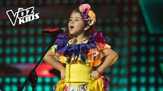 Ellie canta El Pescador - Audiciones a ciegas | La Voz Kids Colombia 2018