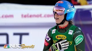Mikaela Shiffrin wins her first world cup event of 2020 | NBC Sports