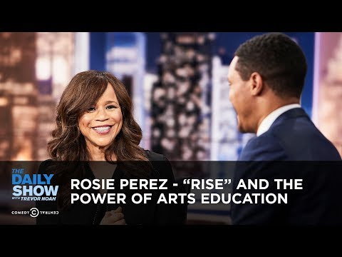 ", title : 'Rosie Perez - ""Rise"" and the Power of Arts Education 