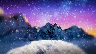 Winter Wonderland White Noise | Holiday Sounds for Relaxing, Studying, Sleep | 10 Hr Christmas Music