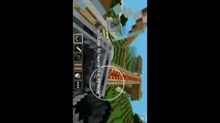 Minecraft Pocket Edition On Android Gameplay