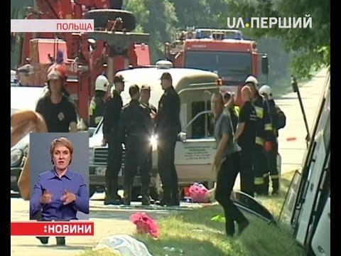 В смертельное ДТП в Польше попали украинские заробитчане