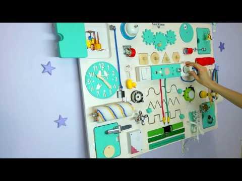 Видео обзор Бизиборд Макси Классик (80*60см.)