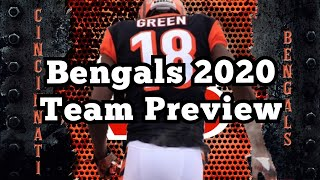 Cincinnati Bengals 2020 NFL Team Preview